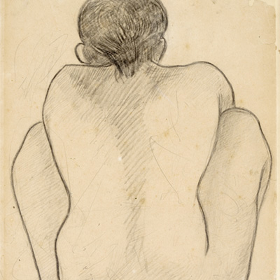 Paul Gauguin, Tahitian woman seen from the back