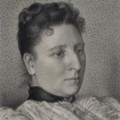 George Lemmen, Portrait of Anna Boch