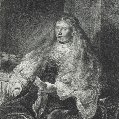 Rembrandt, The Great Jewish Bride