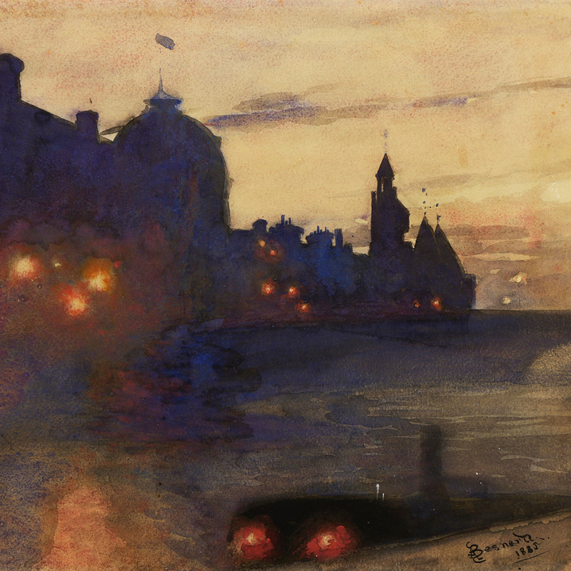 Albert Besnard, Light-night