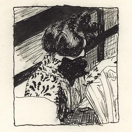 Edouard Vuillard Marthe Mellot reading